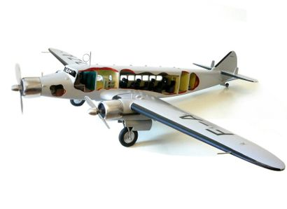 Avion Dewoitine 338-Air France. Rare modèle...