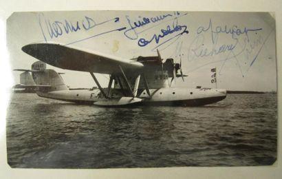 Photo de l'hydravion Blériot B-5190 avec...