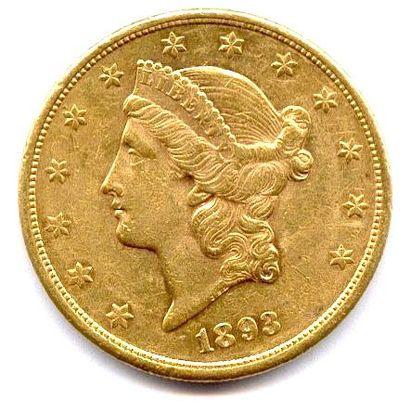 U.S.A. 20 dollars or 1893 San Francisco