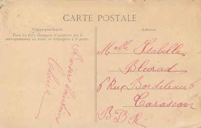 """3 CARTES POSTALES PERSONNAGES : Sélection. """"Toulon-102-Torpilleur des Rues (dos..."""