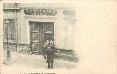 """10 CARTES POSTALES POLITIQUE : Paris - Fort Chabrol. """"Jules Guérin (en pied et portrait),..."""