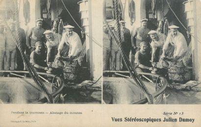 29 CARTES POSTALES VUES STEREOSCOPIQUES : Sur Papier. Divers Editeurs. 22cp-Paris,...