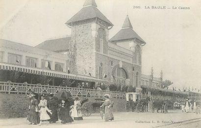 """37 CARTES POSTALES LES CASINOS : Divers Départements. Dont"""" Chatel Guyon-Salle des..."""