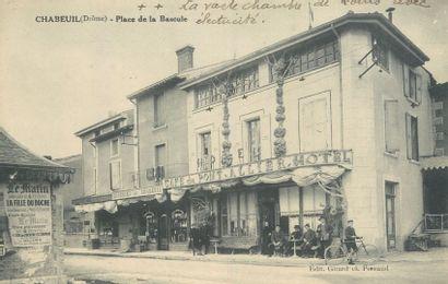 """30 CARTES POSTALES CAFES-RESTAURANT : Province. Dont"""" Auxerre-Rue du Temple-le Café..."""