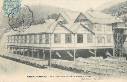19 CARTES POSTALES INDUSTRIES : Divers Thèmes - Ets Nommés (Province et Région Parisienne)....