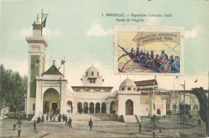 27 CARTES POSTALES EXPOSITIONS : Marseille....