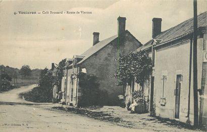 73 CARTES POSTALES CHER : Village de Vouzeron...