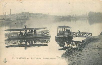 49 CARTES POSTALES BACS & PASSEURS : 48cp-France...