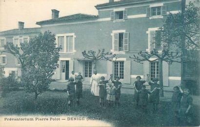 """6 CARTES POSTALES SANTE : Petite Sélection. """"Bonsecours-Institut du Docteur F.Voet,..."""