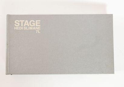 SLIMANE Hedi,  Stage, 7 L  Steidl Verlag,...