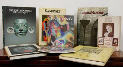 Lot de livres d'histoire de l'art et monographies...