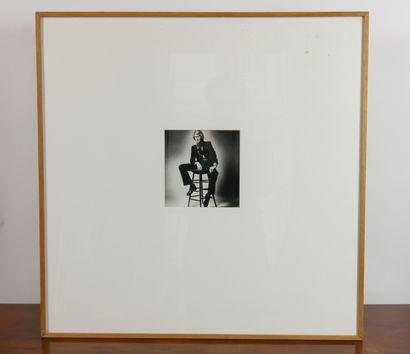 SIEFF Jeanloup (1933-2000) d'après,  Portrait...