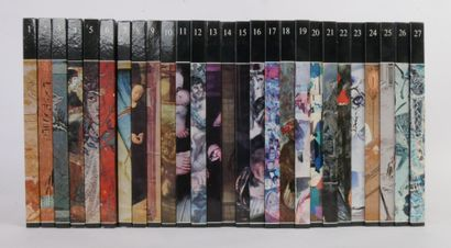 Histoire générale de la peinture en 27 Volumes aux Editions Rencontres Lausanne,...