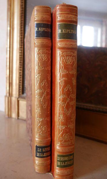 KIPLING Rudyard, Le Livre de la Jungle &...