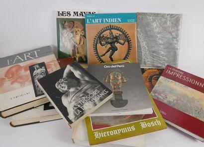 Lot comprenant 41 livres d'Histoire de l'art:...