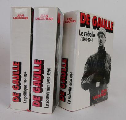 26 livres autour de l'Histoire après la Seconde Guerre Mondiale.  Charles de Gaulle...