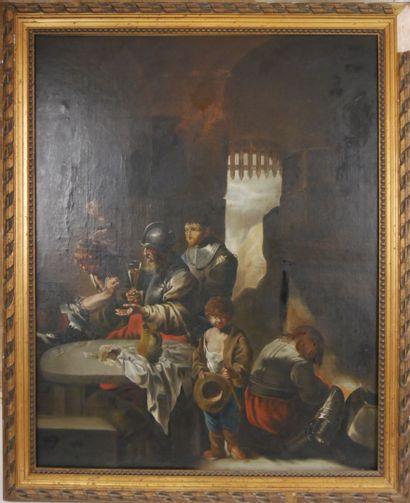 BOURDON Sébastien (1616-1671) d'après, Ecole...