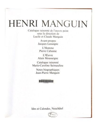 Henri MANGUIN (1874-1949)  Pêcheur à Tain-Tournon, 1944  Huile sur toile, signée...