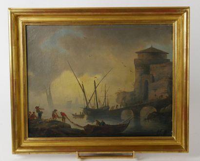 Claude-Joseph VERNET (1714-1789) d'après....