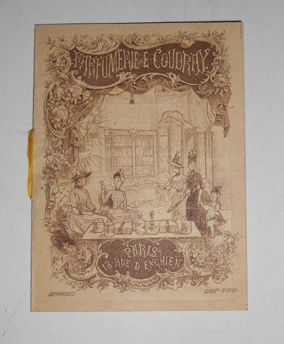 PARIS-PUBLICITE : Document. Petit dépliant...