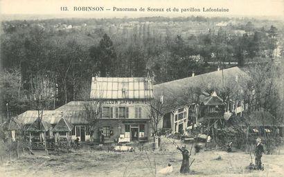 100 CARTES POSTALES HAUTS DE SEINE : Robinson...