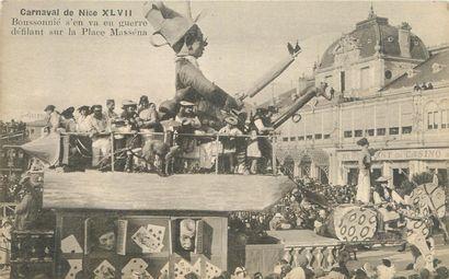 31 CARTES POSTALES NICE : Le Carnaval et...