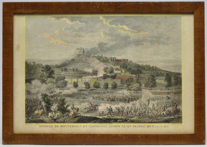 Carle VERNET (1758-1836) d'après. Ecole française...
