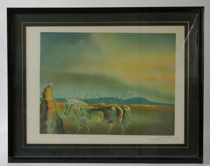 Salvador DALI (1904 -1989)  Le cheval fantastique...