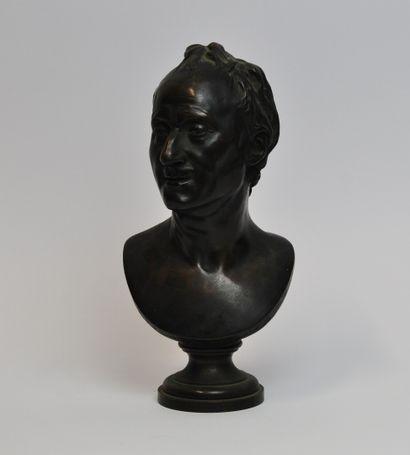 Jean-Antoine HOUDON (1713-1784) D'après  Buste...
