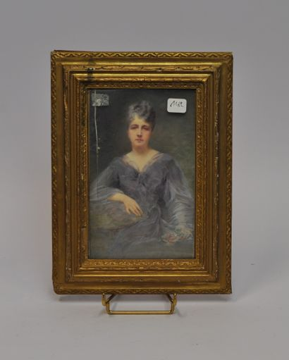Renée de MIRMONT (1868 - 1918)  Portrait...