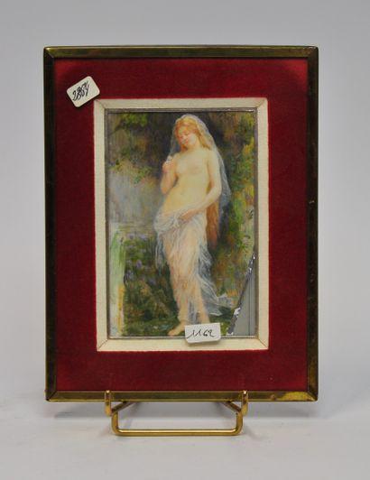 Renée de MIRMONT (1868 - 1918)  Femme représentant...