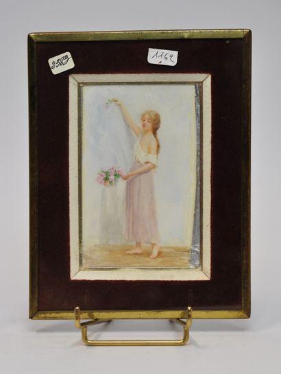 Renée de MIRMONT (1868 - 1918)  Jeune fille...