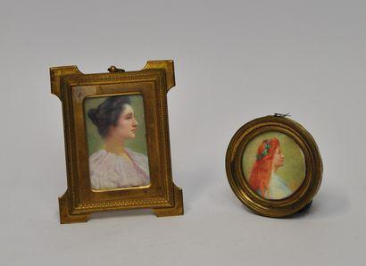 Renée de MIRMONT (1868 - 1918)  Portraits...