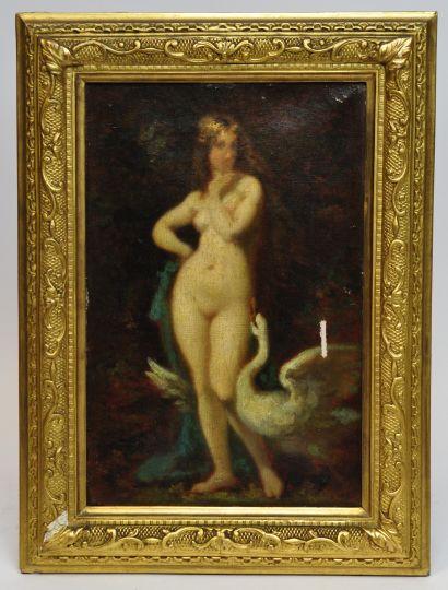 Dans le goût de Jean-Jacques HENNER (1828-1905)...
