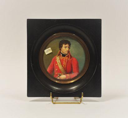 Ecole FRANCAISE de la fin du XIXème - Début XXème siècle  Portrait de Bonaparte...