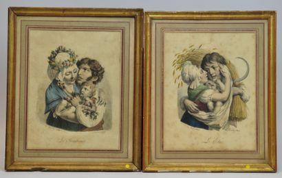 Louis-Léopold BOILLY (1761-1845) D'après....