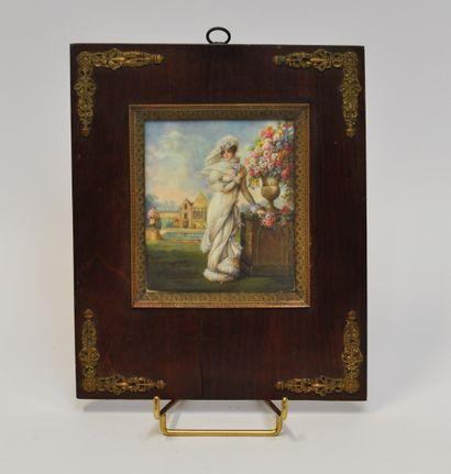 Auguste GARNERAY (1785-1824) D'après  Portrait...