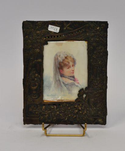Renée de MIRMONT (1868 - 1918)  Jeune femme...