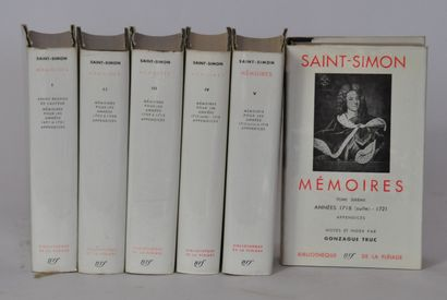 SAINT SIMON  Les mémoires de Saint Simon...