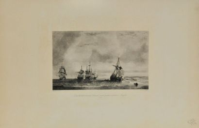 Théodore GUDIN (1802-1880) d'après  Combat...