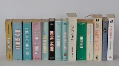 Lot de livres historiques aux éditions Fayard...