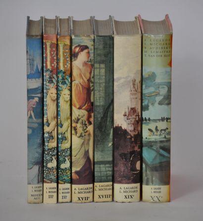Collection littéraire LAGARDE ET MICHARD...