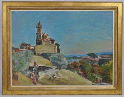 André PLANSON (1898-1981)  Environs de Reus...