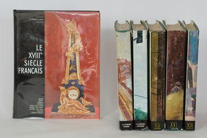 SKIRA  5 volumes sur l'art comprenant:  La...