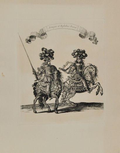 Musée du Louvre Chalcographie d'après Israel Silvestre et François Chauveau.  3...