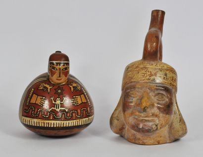 PEROU, Culture Mochica et Tiahuanaco vers...