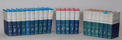 Encyclopédie Universalis en 22 volumes  ...