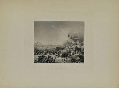 Léon COGNIET (1794-1880) & Karl GIRARDET...