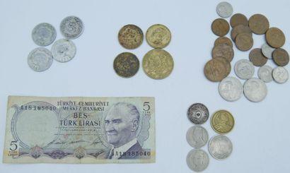 Monnaies Continent Africain, Proche et Moyen...