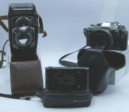 Appareils Photos :  Rolleiflex n°1606685,...